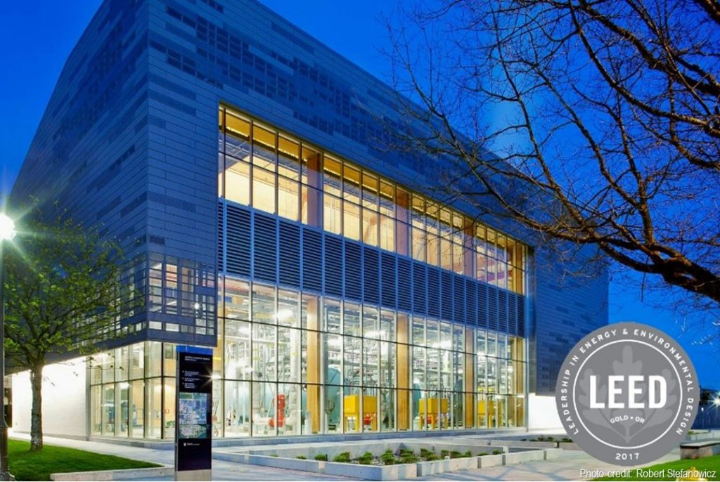 UBC Campus Energy Centre certified LEED® Gold