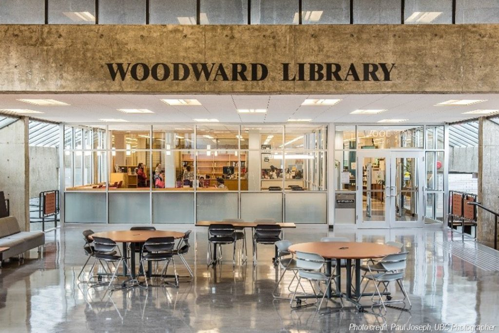 Woodward Library entrance and study space unveiled