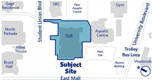 - UBC Life Building (Old Student Union Building Renewal)