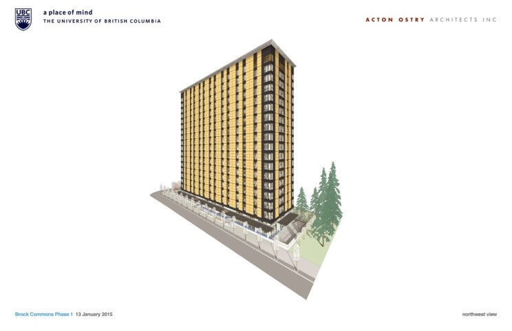 - Brock Commons Phase 1 – Tallwood House
