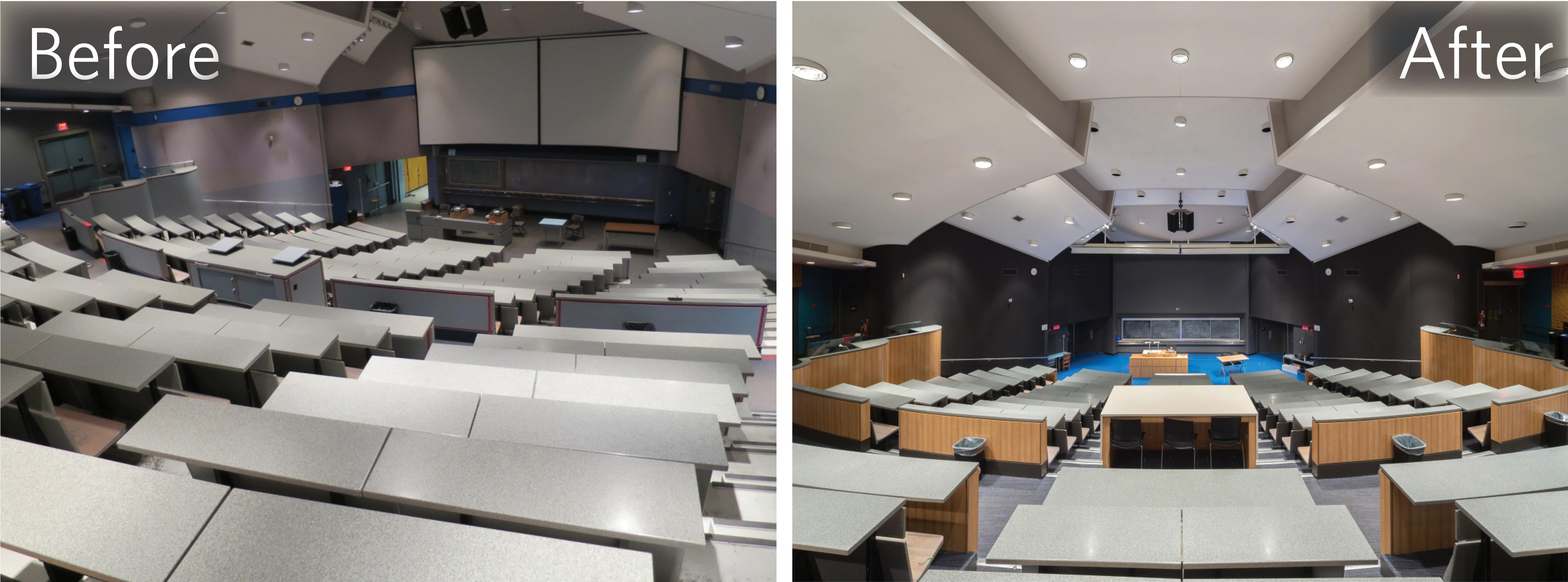 - HEBB 100 seismic upgrade and theatre modernization
