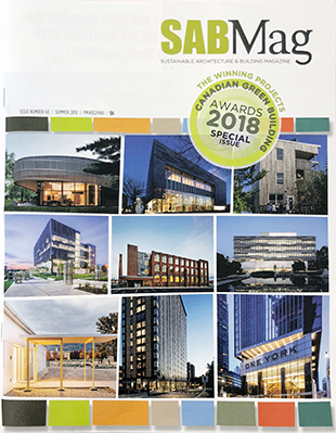 UBC Buildings recognized with two 2018 Canadian Green Building Awards