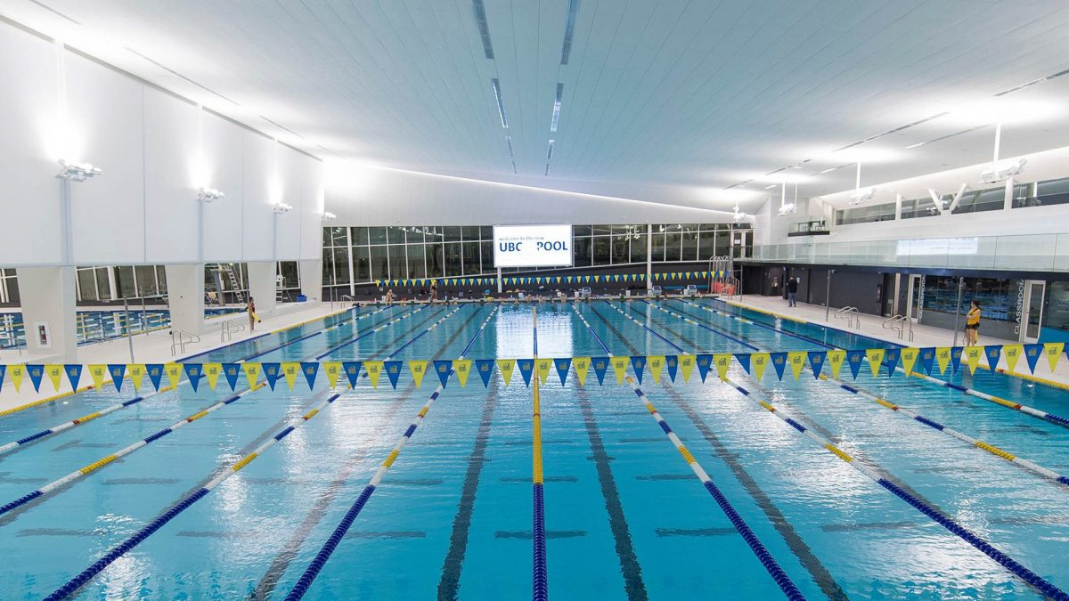 UBC Aquatic Centre recognized for energy conservation and building design