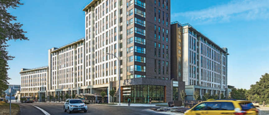 The new Exchange Residence at Gage South & UBC Bus Exchange featured in August issue of Award